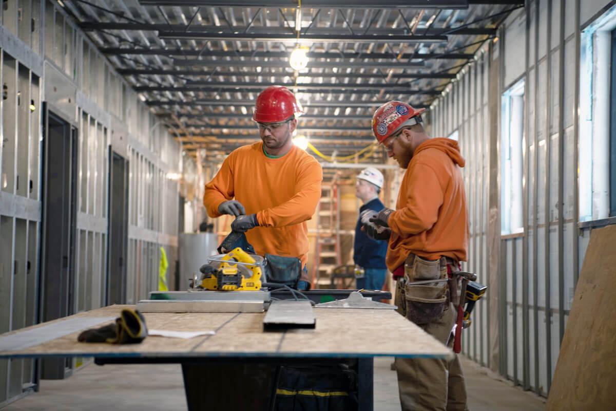 RW Dake - Construction